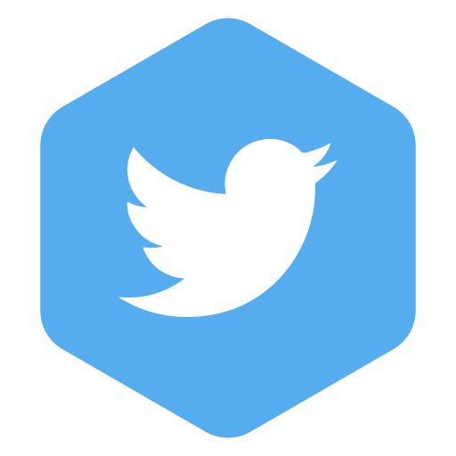 Icons for free hexagon. Twitter t icon png