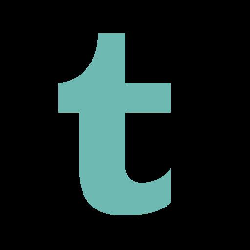Twitter t png. Social media letter icon