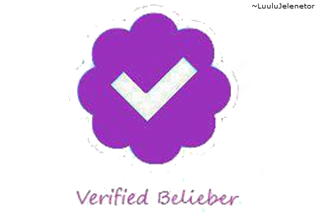 Belieber by luulujelenetor on. Twitter verified png