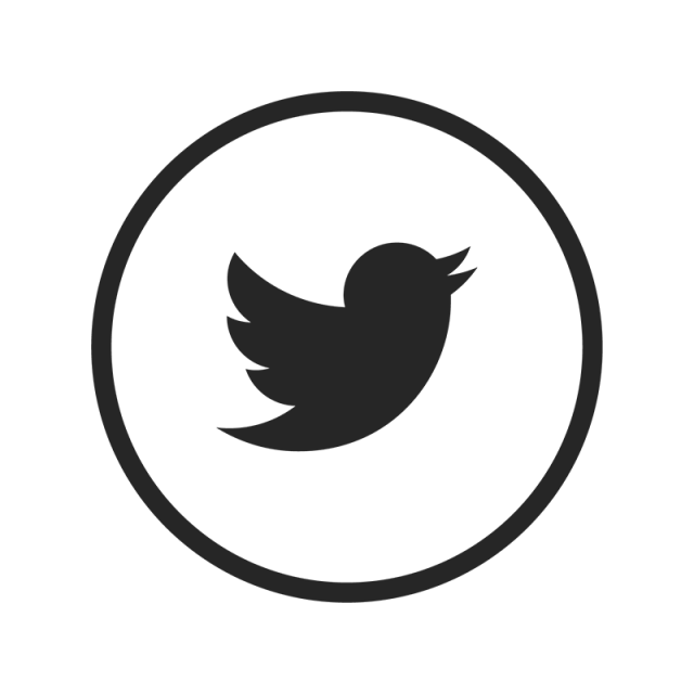 Twitter white png. Icon black and vector