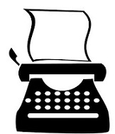 Typewriter clipart. Free icon