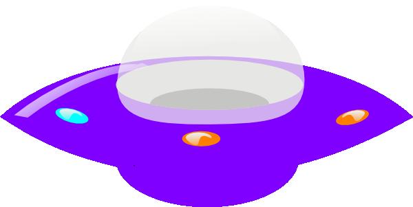 Purple clip art at. Ufo clipart