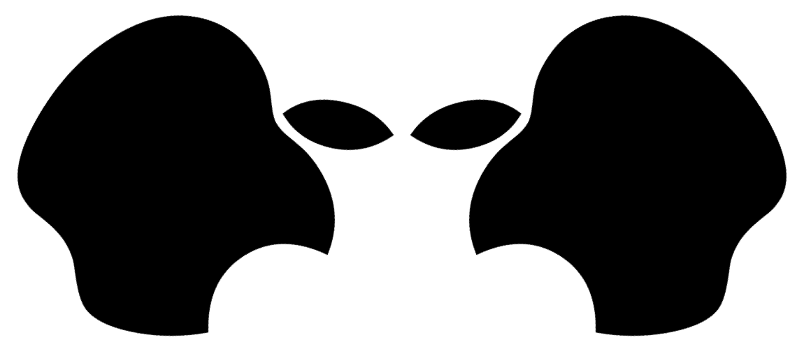 Apple truth control. Ufo clipart alien inside
