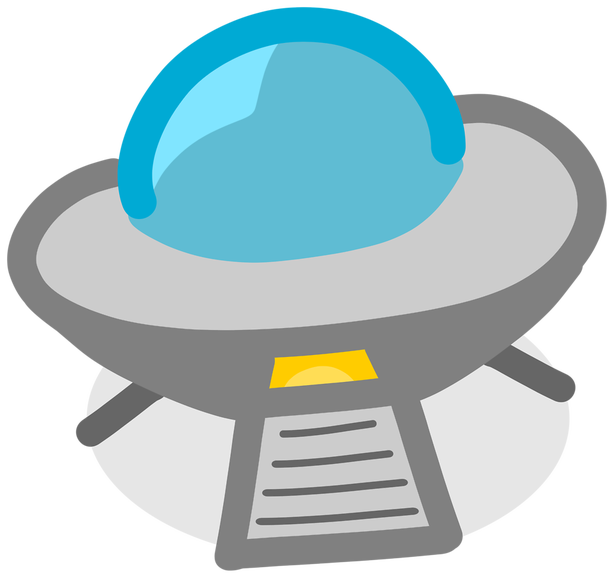 Ufo clipart alien inside. Aliens or s investigations