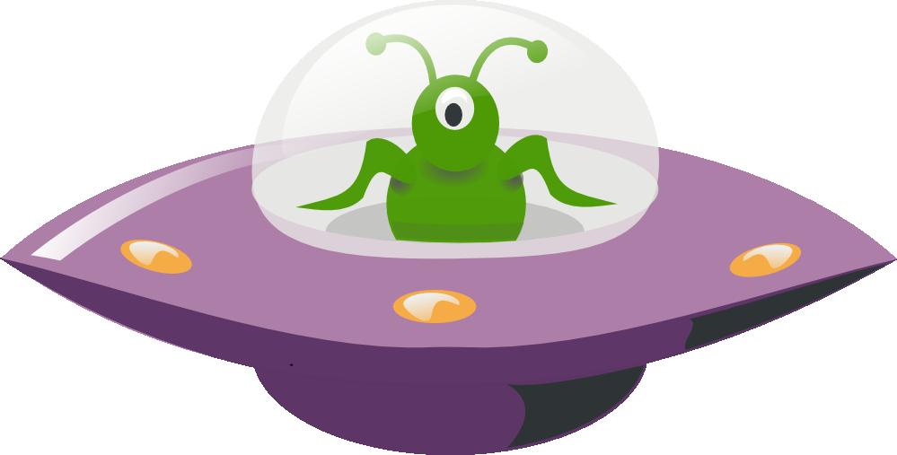 Ufo clipart alien inside. Joe s spot tom