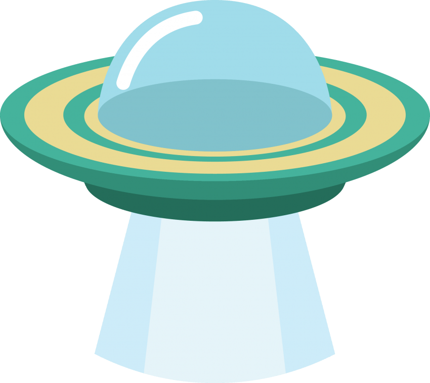 Ufo clipart clear background. Png free images toppng