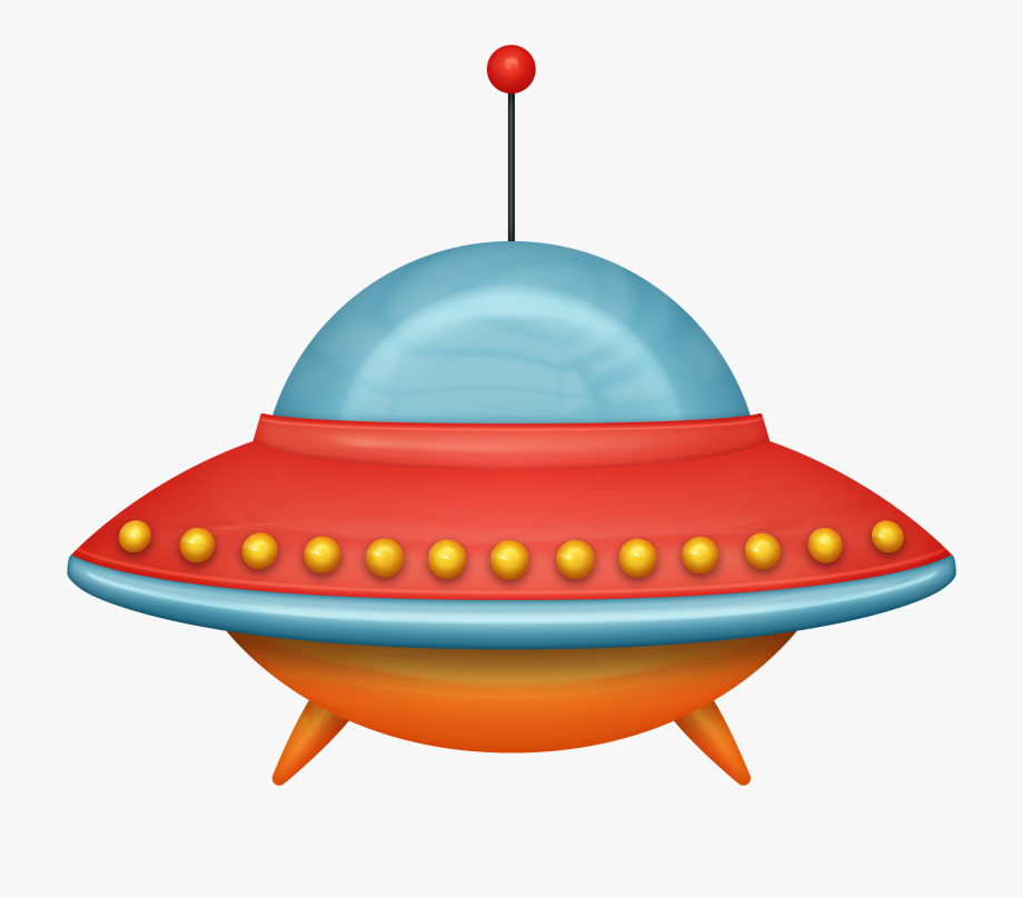Ufo clipart colorful. Cartoon space ship png