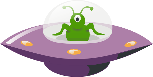 Ufo clipart comic. Cartoon clip art at