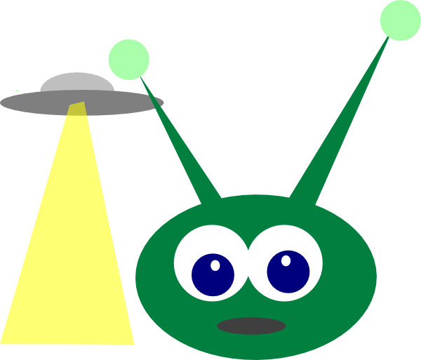 Ufo clipart family. Frames illustrations hd images
