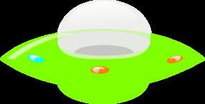 Ufo clipart green. Clip art at clker