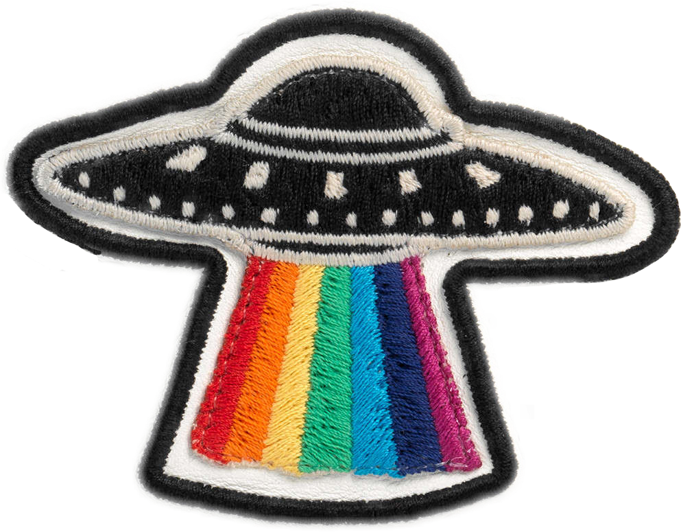 Gucci gucciufo patch freetoedit. Ufo clipart rainbow