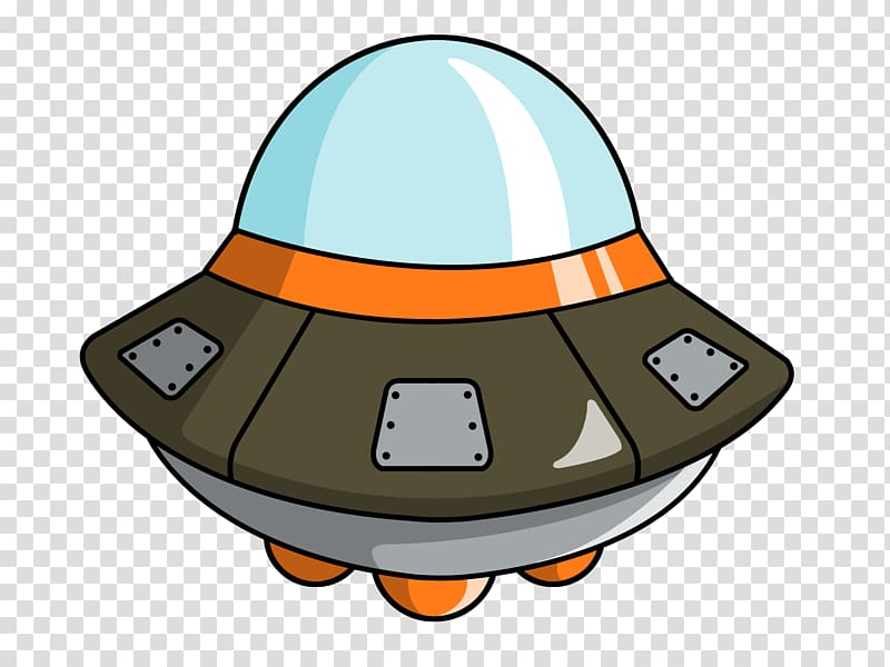 Silver ufos illustration unidentified. Ufo clipart starship