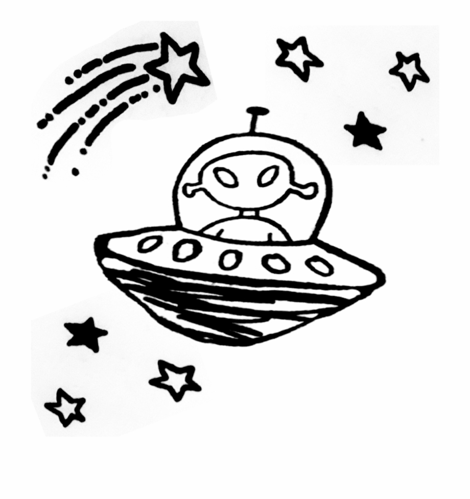 Ufo clipart transparent tumblr. Sticker alien alienigena aliens