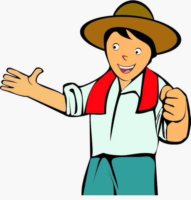 Uncle clipart. Farmer farmers happy png