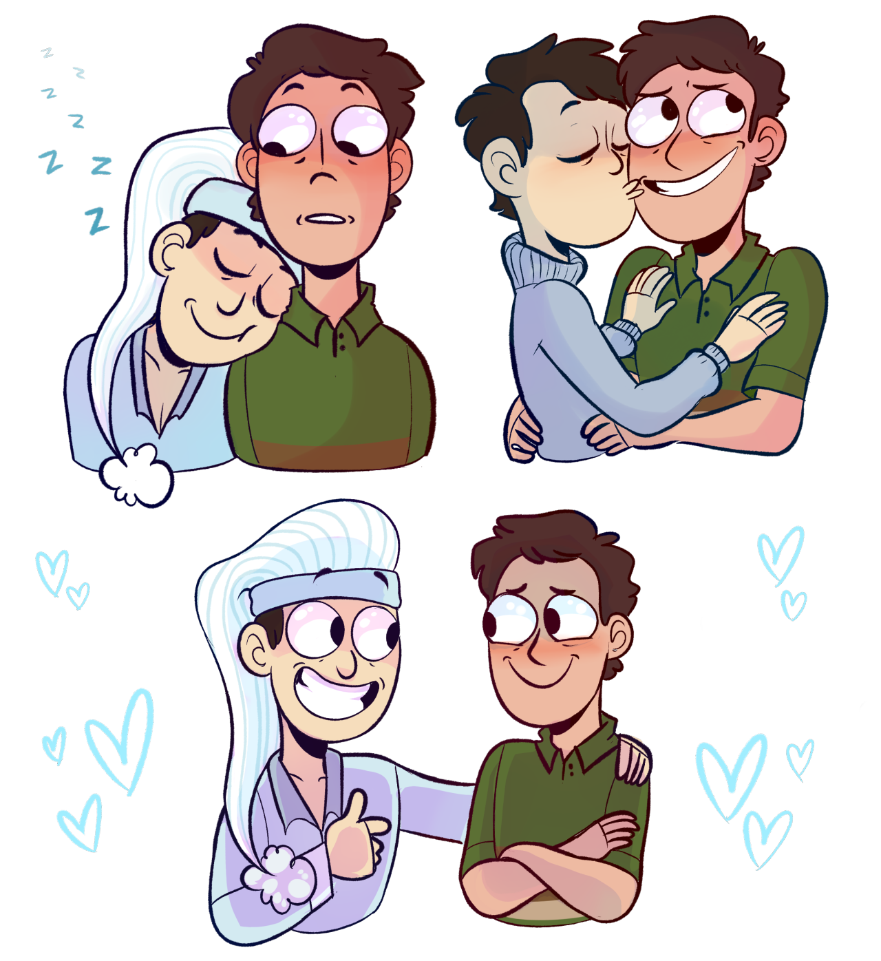 Uncle clipart lgbt family. Art jerry bein a