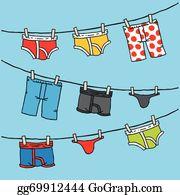Underwear clip art royalty. Boxer clipart knickers