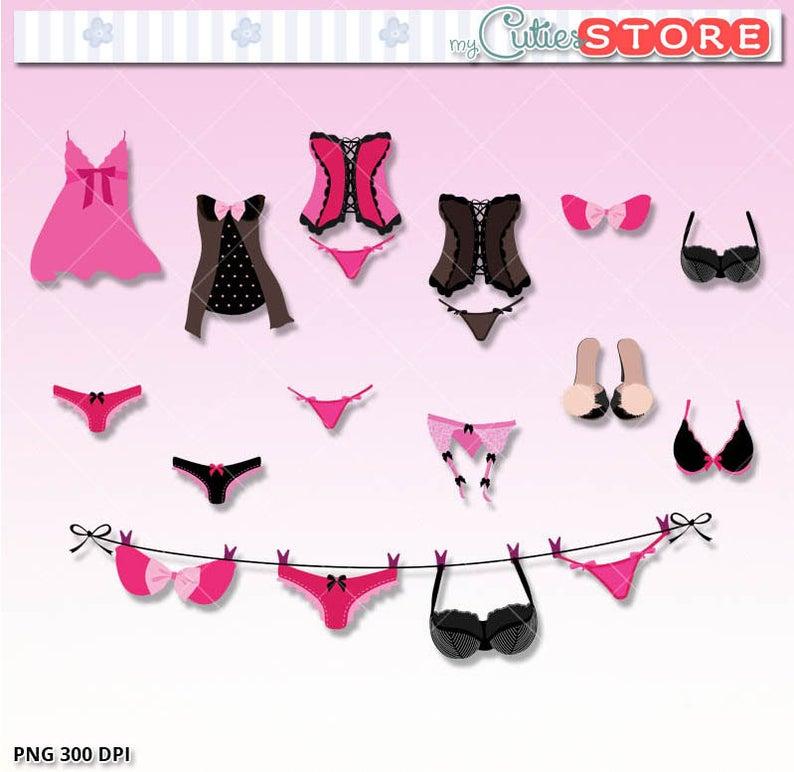 Underwear clipart fourth july. Sexy bachelorette lingerie clip