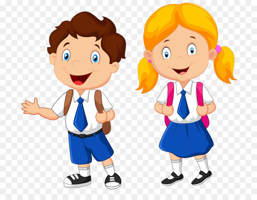 Uniform clipart. School student clip art