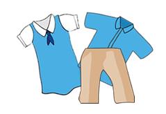 . Uniform clipart