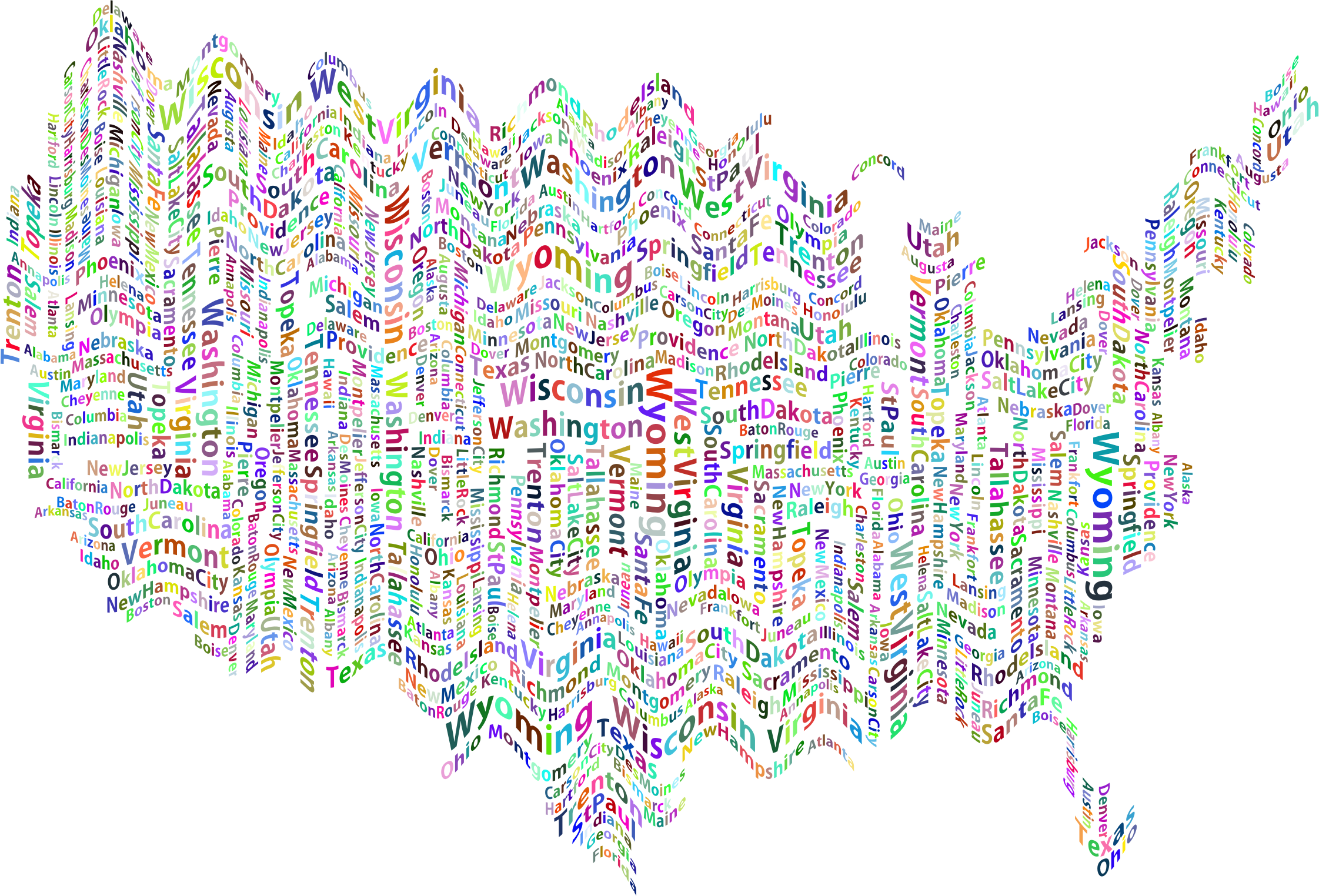 United states clipart background. Prismatic ripples america and