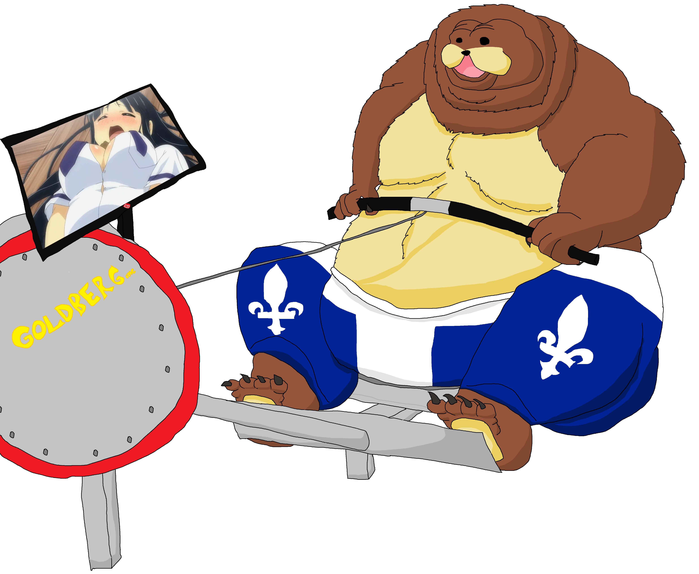 A true bearmode workout. United states clipart cartoon