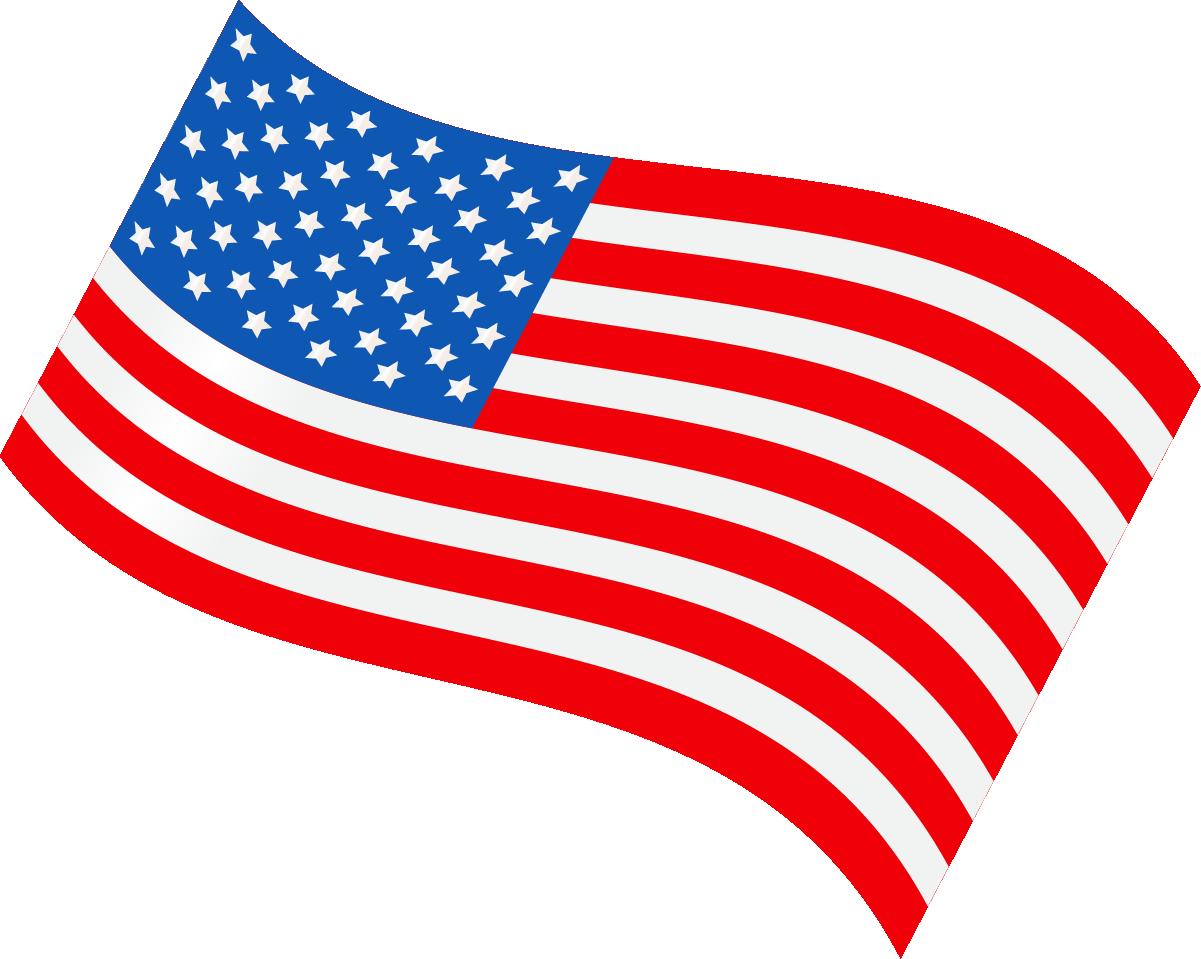 United states clipart cartoon. Flag of the illustration