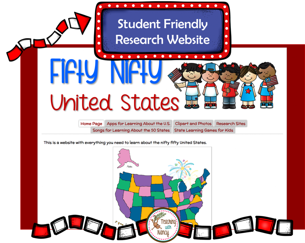 Website clipart url. State report research project
