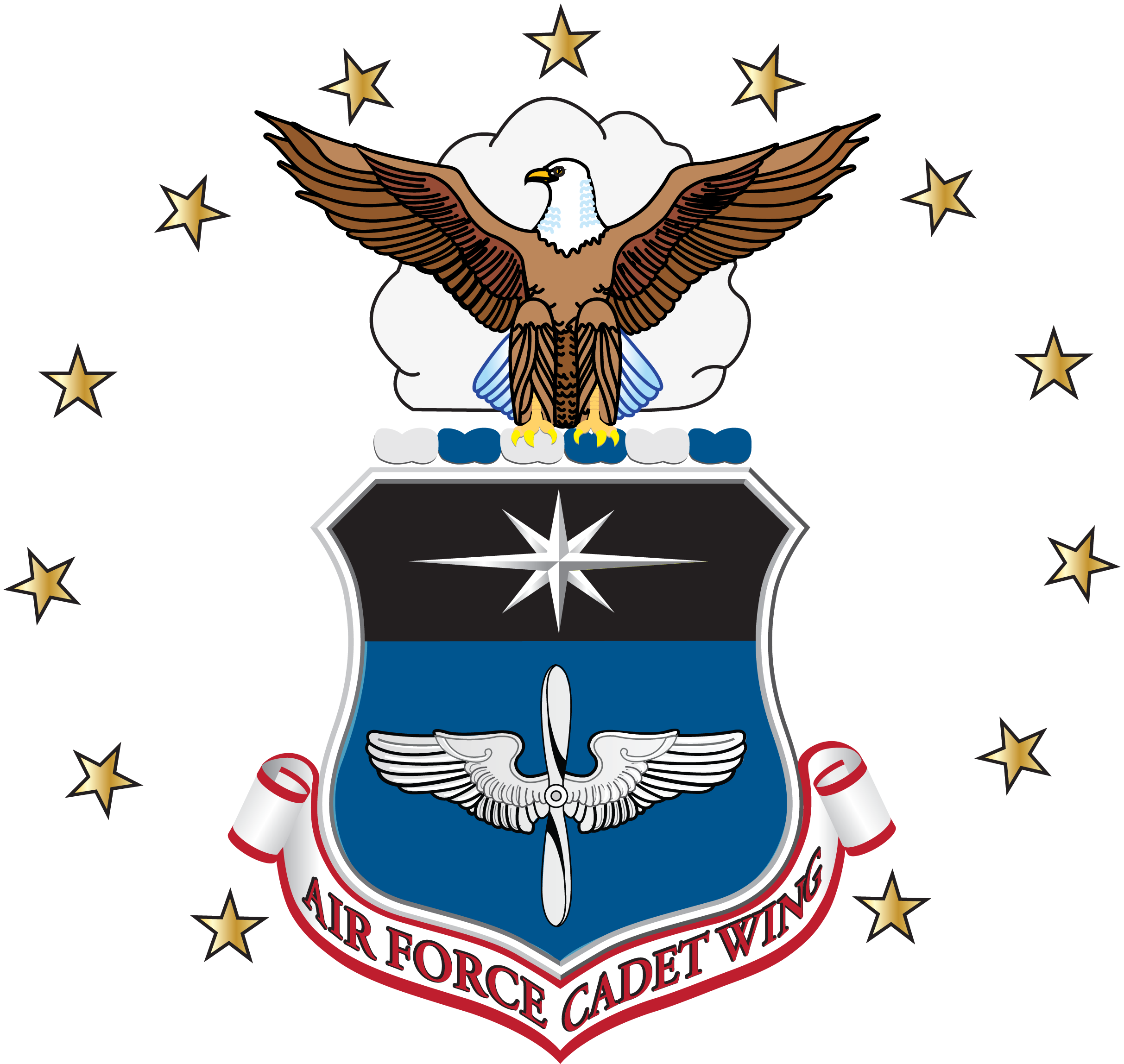 File afcw seal png. Wing clipart air force