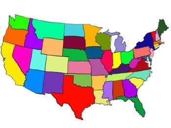 United states clipart map. Tpt products clip art