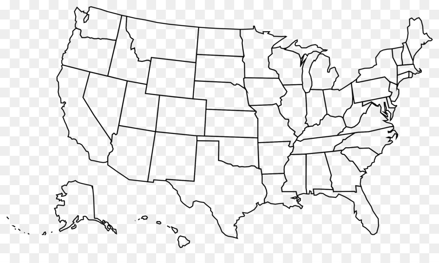 United states clipart map us, United states map us ...