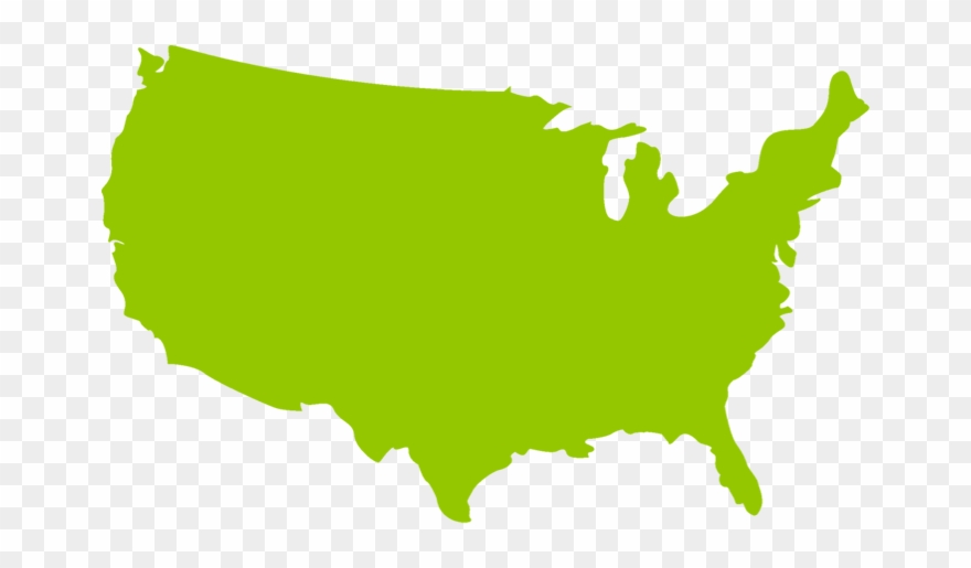 Map at getdrawings new. United states clipart silhouette