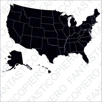 United states clipart silhouette. Of america svg files