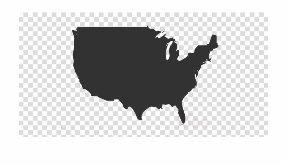 United states clipart unoted. Usa canada map png