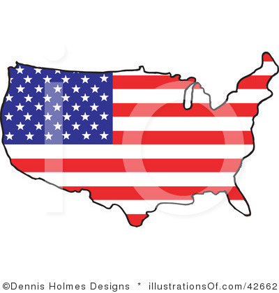 United states clipart. Clip art border panda