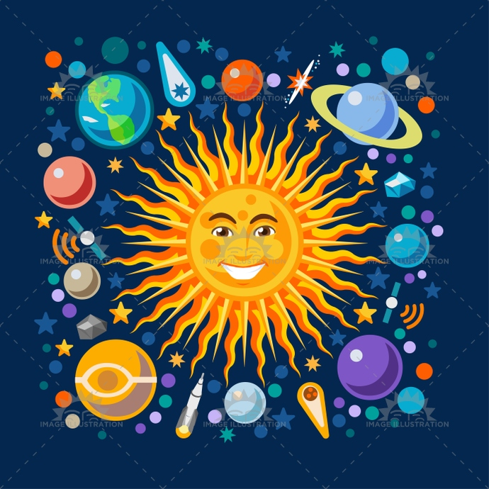 Astronomy clipart universe. Station