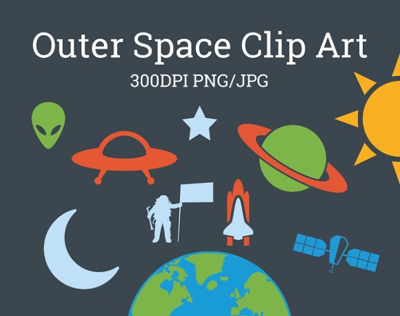Outer space galaxy clip. Universe clipart