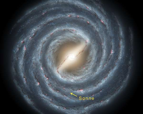 The structure of . Universe clipart milky way galaxy