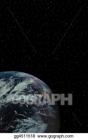 Stock illustration drawing gg. Universe clipart sky earth