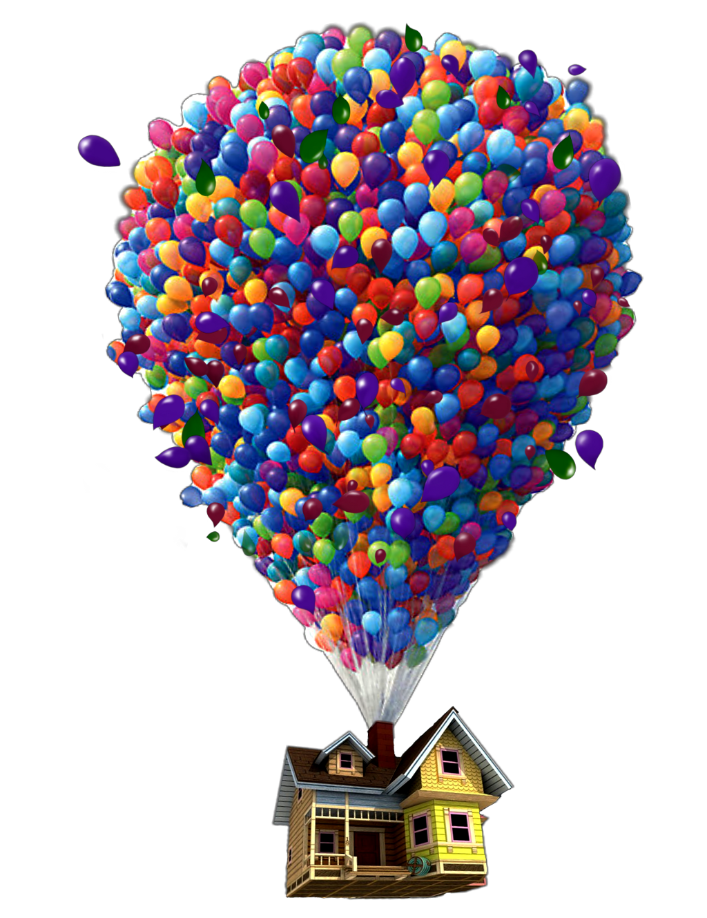 Up house png. Youtube pixar balloon monsters