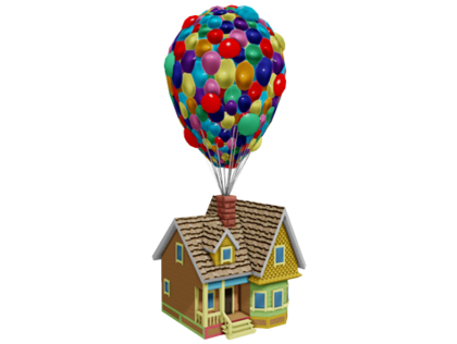 Up house png. Carl fredricksen s disney