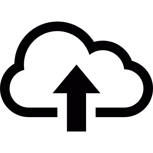 Cloud free arrows icons. Upload icon png