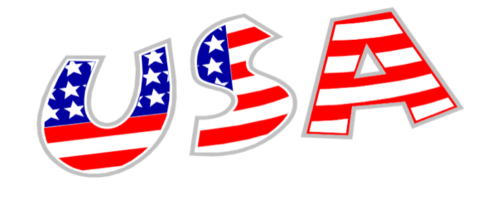 Usa clipart. American flag free graphics