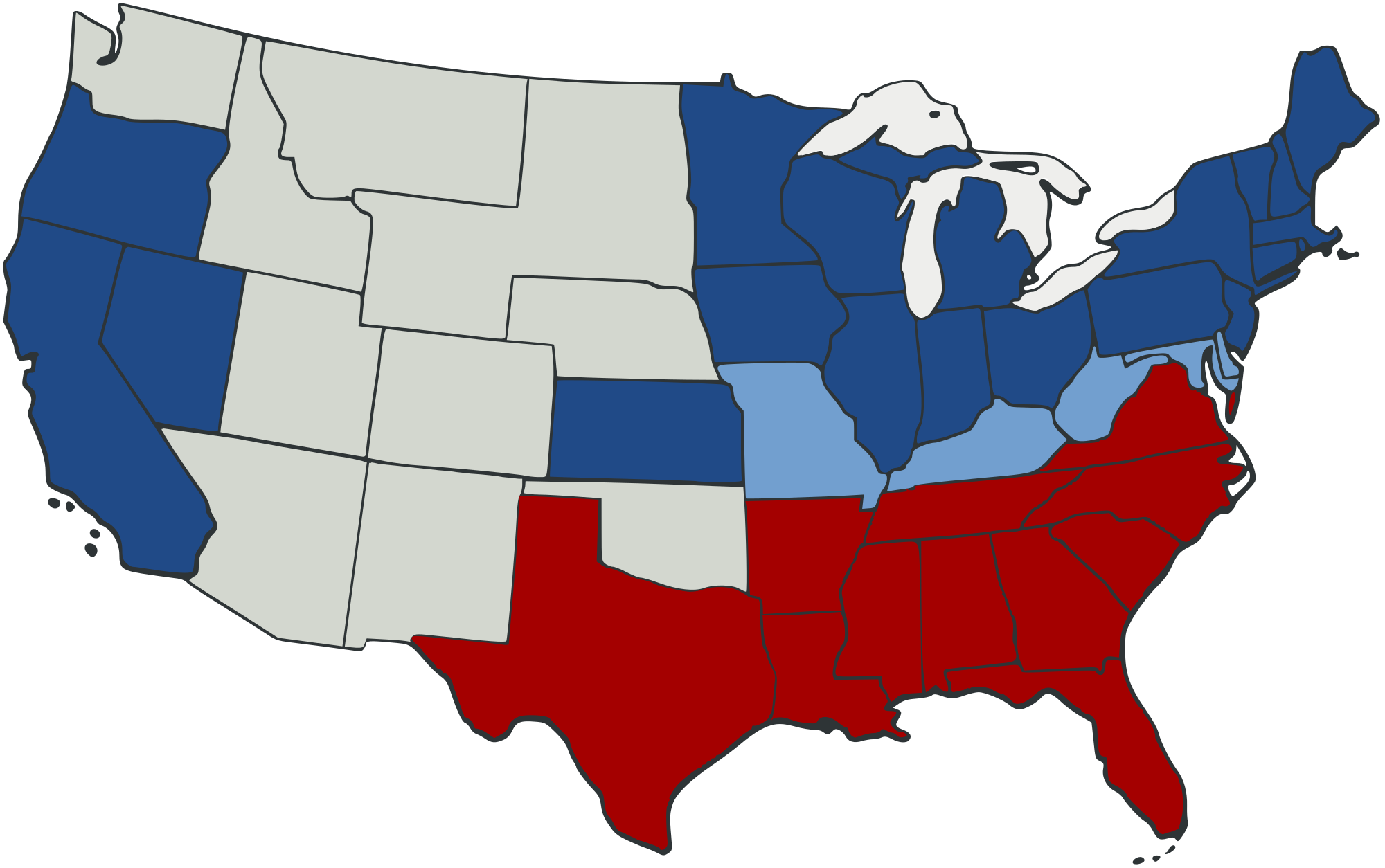 Usa border state