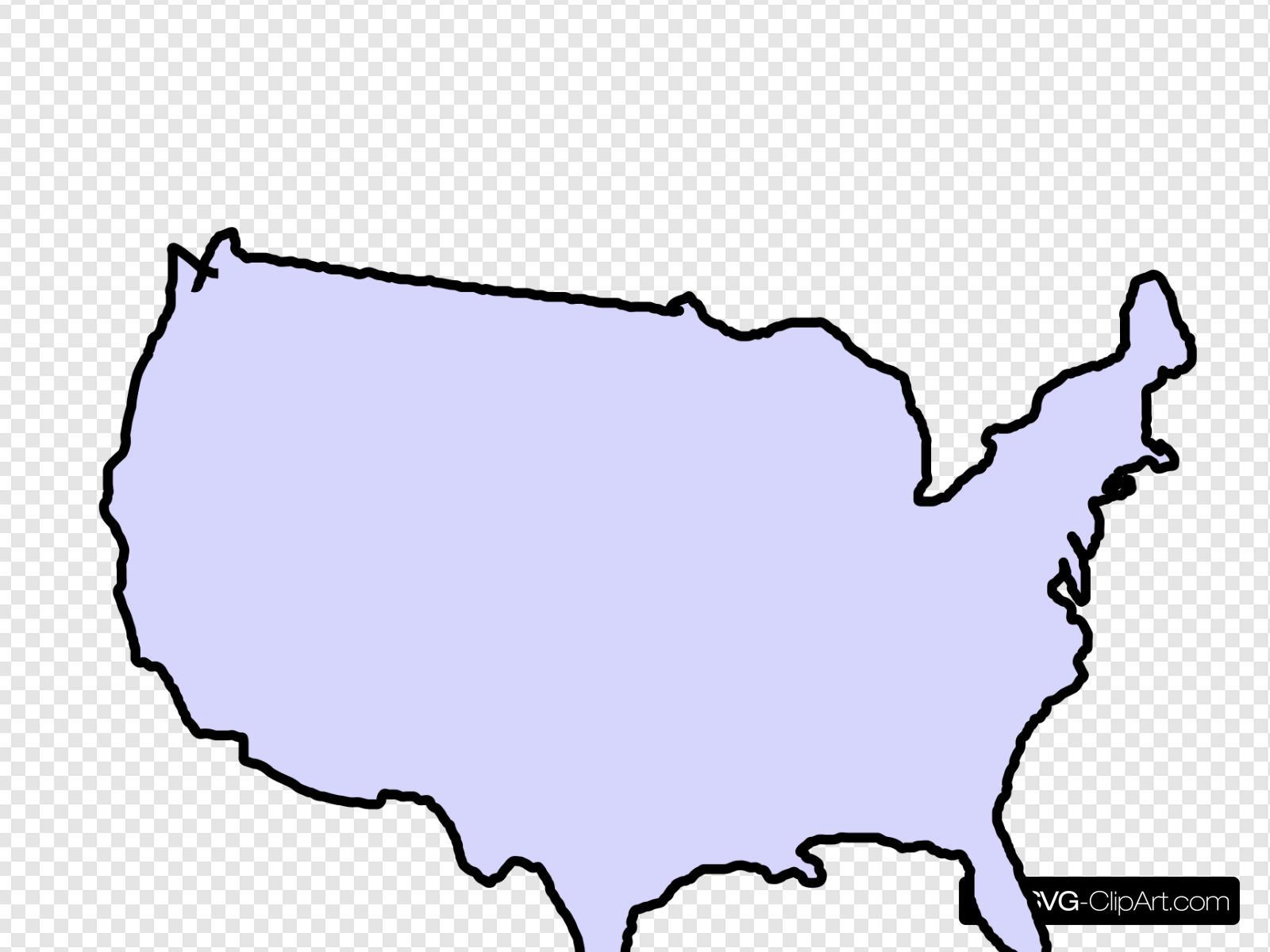 Usa clipart grey. Map clip art icon