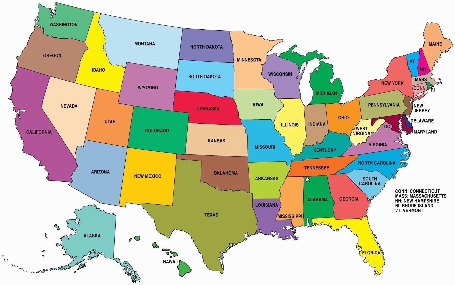 Usa clipart name capital. Us map including alaska