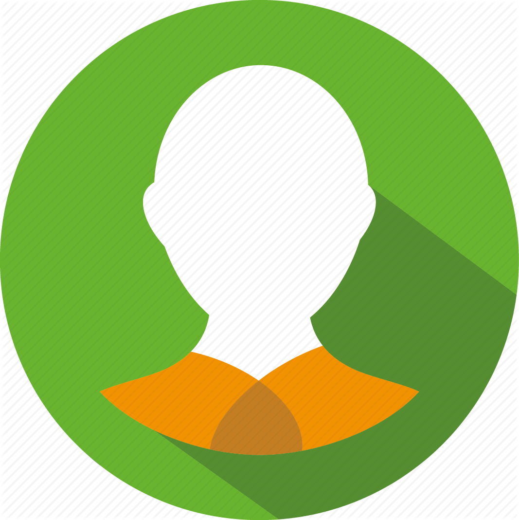Green shopper by brian. User icon png