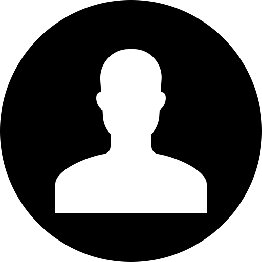 User icon png. Avatar account male circle