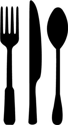 Utensils clipart. Free printable kitchen clip