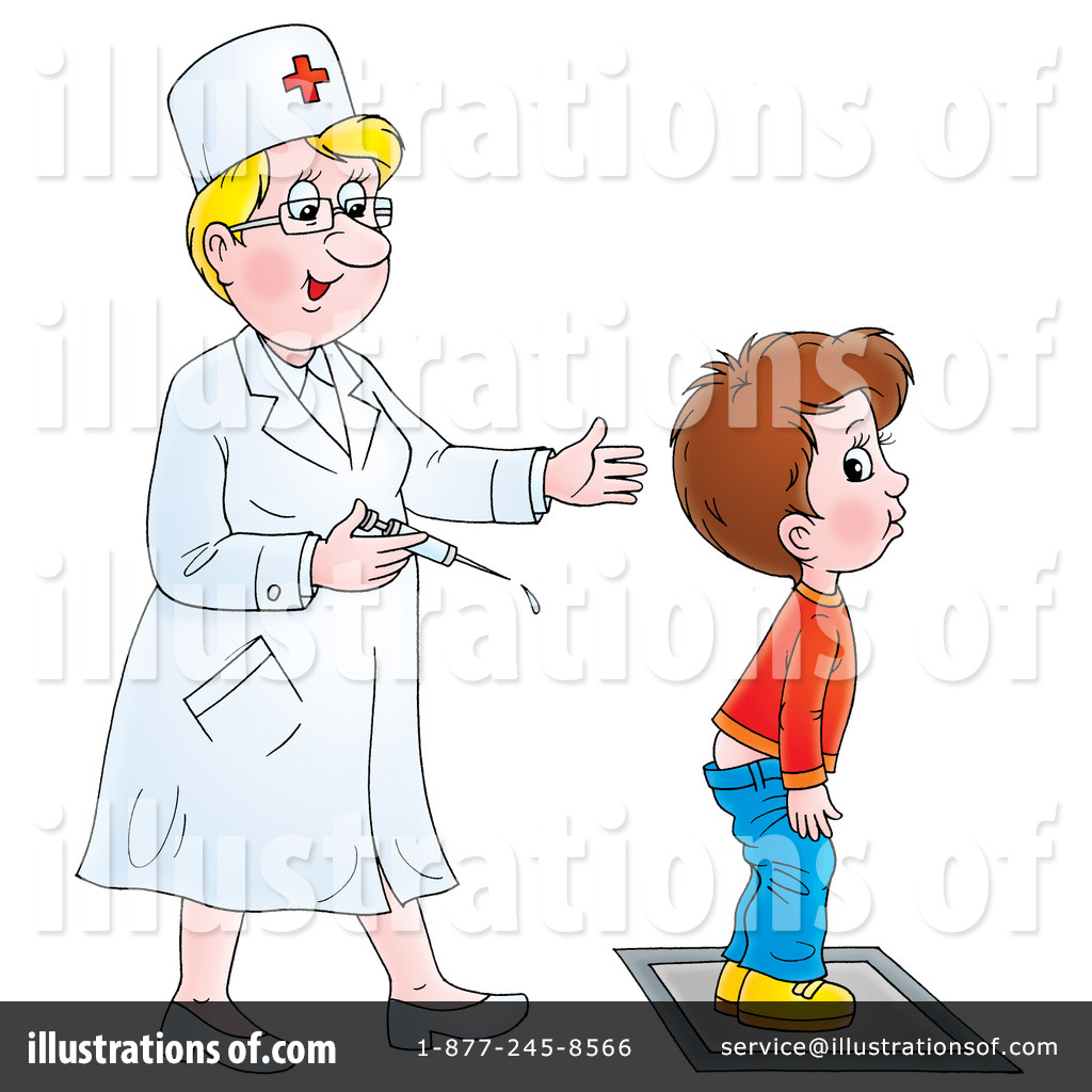 Vaccine clipart. Illustration by alex bannykh