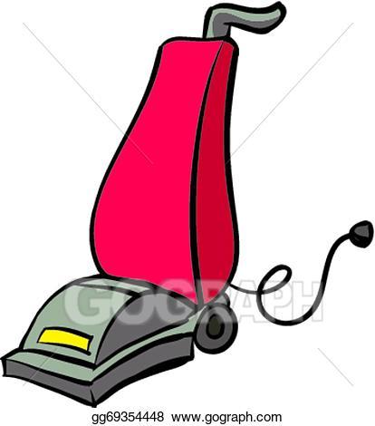 Vacuum clipart. Vector stock illustration gg